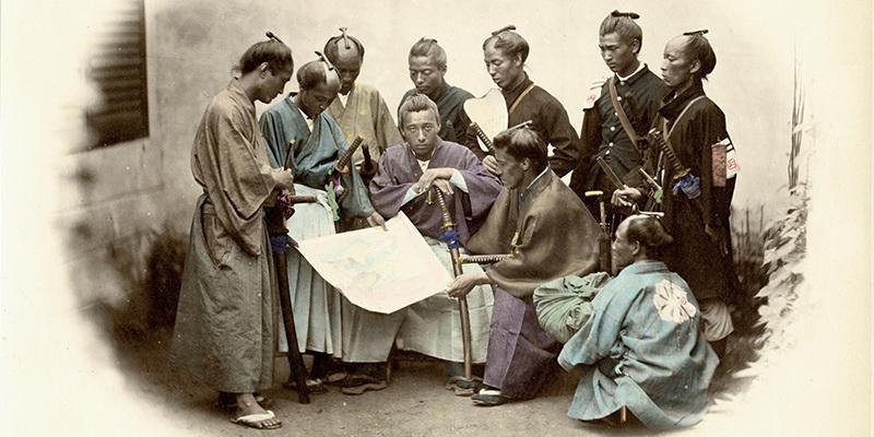 Опавшие листья уходящей эпохи. Последние самураи феодальной Японии.