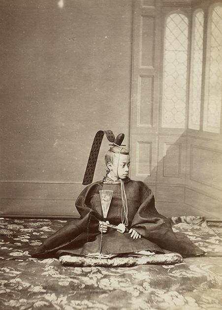 Портрет Токугавы Акитаке в Париже