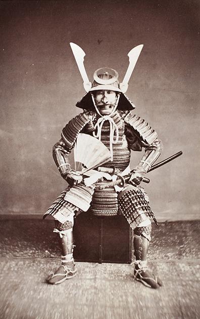 Командир отряда самураев. 1870 год