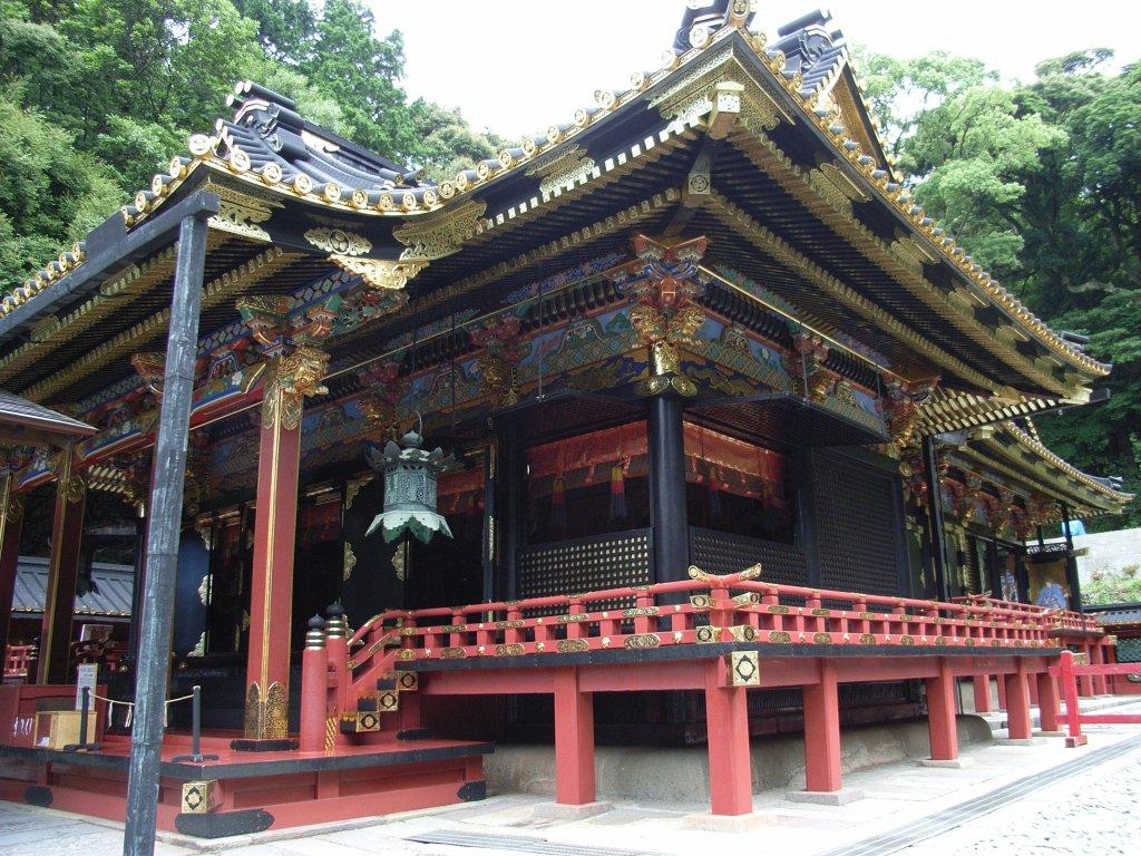 Усыпальница Токугава Иэясу -  Kunōzan-Tōshōgū