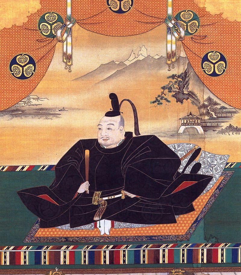Упитанный Токугава Иэясу