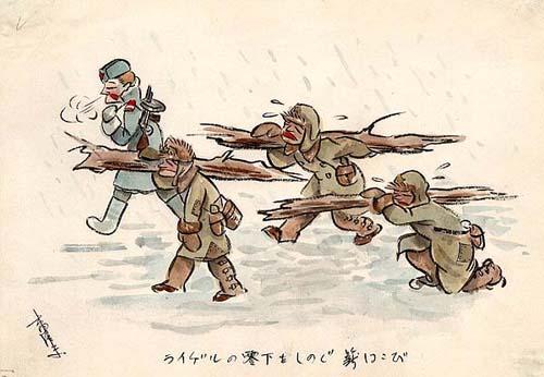 Японские военнопленные в Сибири