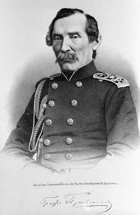 Контр-адмирал Е.В. Путятин